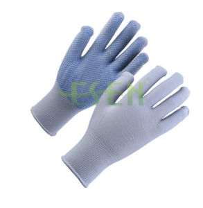 2017 High Quliaty Personal Safety Equipment New Working Gloves Work Used PVC Dotted Working Gloves From China pictures & photos