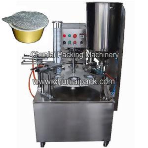 Aluminium Cup Foil Sealing Machine pictures & photos