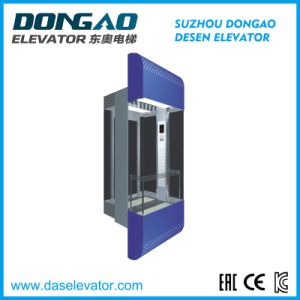 Good Quality Glass Sightseeing Elevator with Vvvf Device pictures & photos