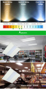Dlc 40W 1X4 LED Troffer Light Can Replace 120W HPS Mh 100-277VAC Ce RoHS ETL pictures & photos