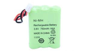 AAA NiMH 3.6V 750mAh Batteries Made in China pictures & photos