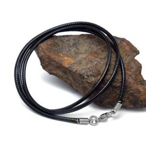 Black Leather Woven Necklace Men & Women Fashion Accessories pictures & photos