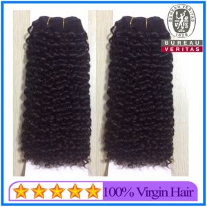 Top Quality Virgin Unprocessed Kinky Curl Brazilian Hair pictures & photos
