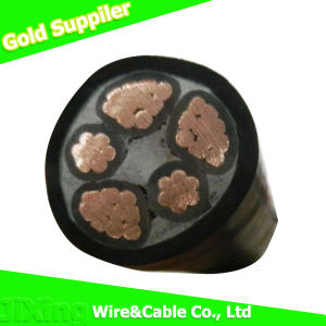 Insulated Underground Electric Cable / Flexible Electrical Building Cable pictures & photos