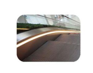 Volkslift Semi Outdoor Vvvf Escalator in Subway pictures & photos