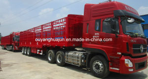 12.5 Meters Flatbed Van Type Semitrailer pictures & photos