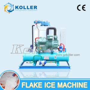 Large Capacity Flake Ice Making Machine Kp50 5 Ton for Meat Processing pictures & photos