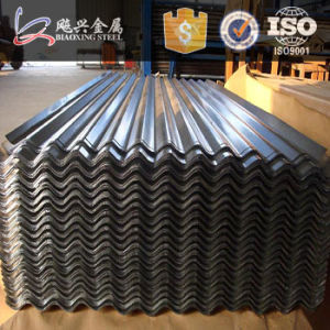 Build Material-Thin Plate-Galvanized Corrugated Steel Roofing Sheet pictures & photos
