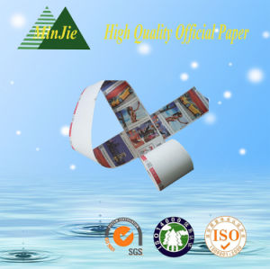 Provide Color Printing Type POS Cash Register Billing Paper Roll pictures & photos