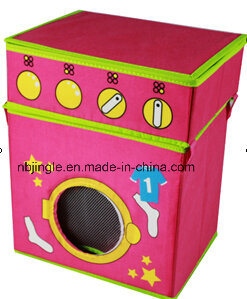Kids Storage Box Stool with Washing Machine Design (GSA9165)