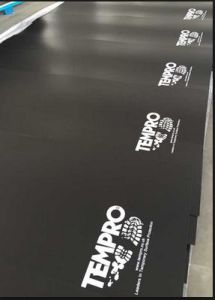 with 4 Logoes Printing 2mm 3mm Ppcorrex Coroplast Corflute Plastic Sheets for Hard Floor Protection pictures & photos