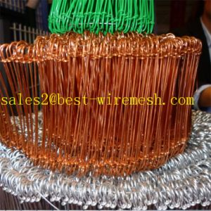 PVC Coated/Galvanized Double Loop Tie Wire pictures & photos