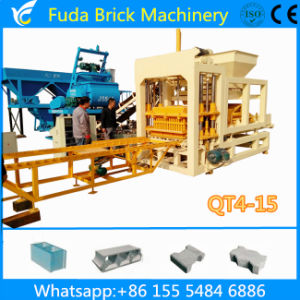 Hydraulic Full Auto Cement Paver Brick Making Machine pictures & photos