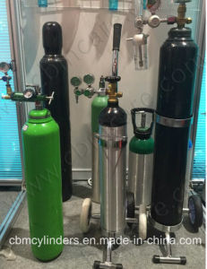 Medical Oxygen Cylinders with Pin Index Valves Cga870 pictures & photos