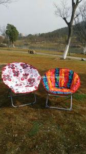 Metal Outdoor Camping Beach Fishing Moon Chair pictures & photos