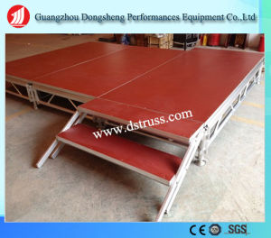 1.22m*2.44m Aluminum Portable Stage Used High Quality Stage Truss pictures & photos