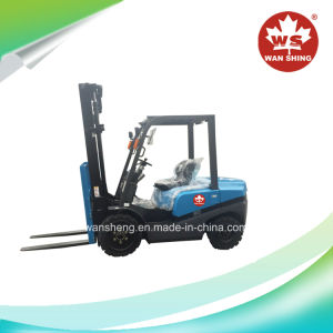 Lateset Model Blue Coating 3 Ton Diesel Forklift Truck / 3 Ton Forklift pictures & photos