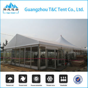 Multi-Side Ends Luxury High Peak Mixed Wedding Party Dome Tent pictures & photos