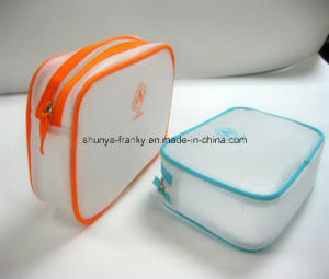 Hot Sale Colored PVC Nylon Zipper Bag High Quality pictures & photos