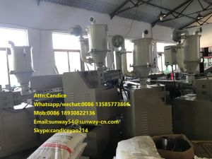 PE Extruder and Cutting Machine pictures & photos