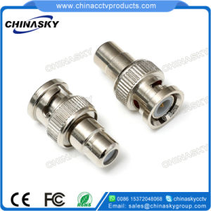 BNC Male to RCA Female Connector for CCTV Security (CT5048) pictures & photos