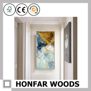 Simplicity White Wood Painting Poster Frame for Hotel Decoration Project