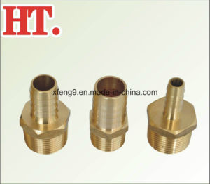 Brass Male Hose Barb Adapter Fitting (3/4*1) pictures & photos
