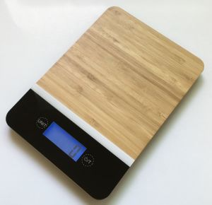 Bamboo Platform Kitchen Scale (81561B) pictures & photos
