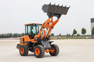 Ensign Small Mini Earthmoving Wheel Loader with Ce pictures & photos