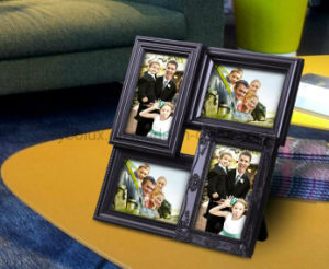 Walmart Plastic Multi Openning Home Decoration LED Light Collage Photo Frame pictures & photos