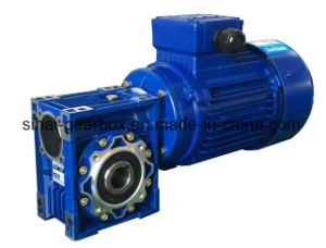 PAM B14 Flange Gearbox with Motor Worm Gearbox Transmission pictures & photos
