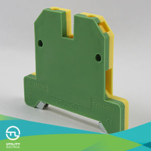 Utl China Shopping Jut2-4PE Spring Dinrail Terminal Block pictures & photos