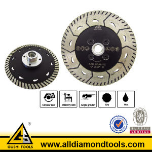 Turbo Diamond Saw Blade for Grinding & Cutting Stone pictures & photos