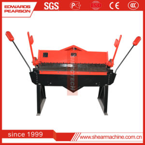 Metal Sheet Manual Bending Machine (W1.0X610Z W1.5X915Z W1.5X1260A W1.5X1220Z) pictures & photos