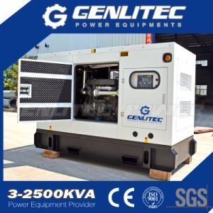 Open/Silent Perkins 20kVA Diesel Generator Set with 404D-22g pictures & photos
