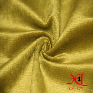 Textile Polyester Upholstery Woven Velvet Curtain Sofa Fabric pictures & photos