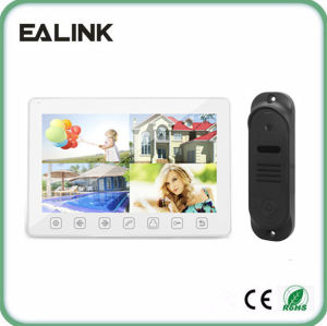 Electronic Video Door Phone Villa Video Intercom 10inch pictures & photos