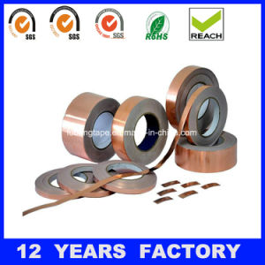 70micron Single Sided Copper Foil Tape with Liner pictures & photos