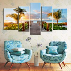China Factory High Resolution Custom Canvas Famous Flower Oil Painting pictures & photos