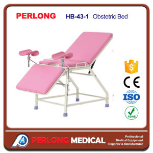 New Arrival Epoxy Coating Obstetric Bed Hb-43-1 pictures & photos