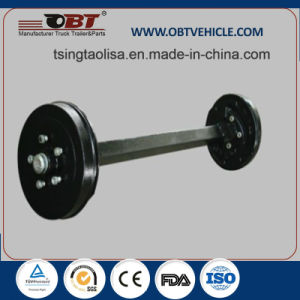 3 Ton Obt Standard Straight Forged Lift Axles for Big Sale pictures & photos