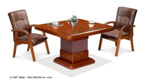 Wooden Design Office Reception Coffee Table pictures & photos