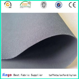 Flat PVC Coated Textile Panama Oxford Cloth 600d Fabric for Fishing Bags pictures & photos