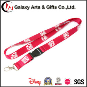 Novelty Silk Screen Printed Nylon Lanyard with Simple Metal Hook Factory Directly Sale pictures & photos