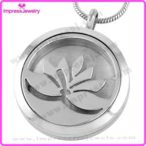 Polished Oil Diffuser Necklace Perfume Engraved Locket pictures & photos