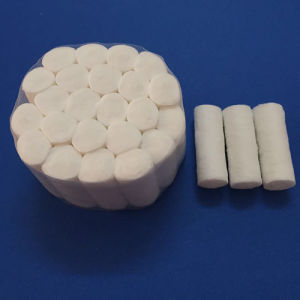 Exporting Standard High Quality Disposable Absorbent Dental Cotton Roll pictures & photos
