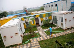 China 40FT Shipping Container House 20FT Sea Container Hotel ...