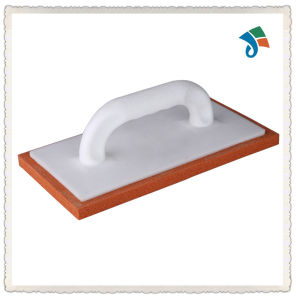 Plastic Handle Sanding Block Rubber Foam Trowel pictures & photos