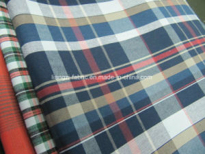 Cotton Yarn Dyed Check Fabric for Short Pants-Lz6725 pictures & photos