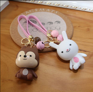 High Quality Customized Cartoon Style Resin Key Chain pictures & photos